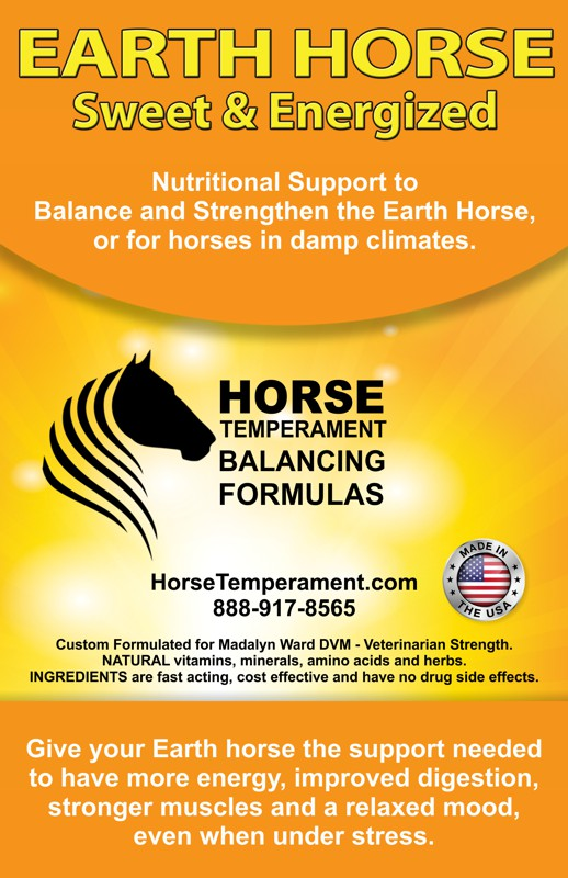 Earth Horse Temperament Balancing Formula
