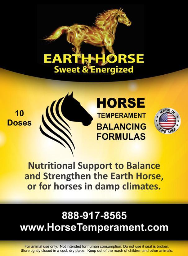 Earth Horse Temperament Balancing Formula