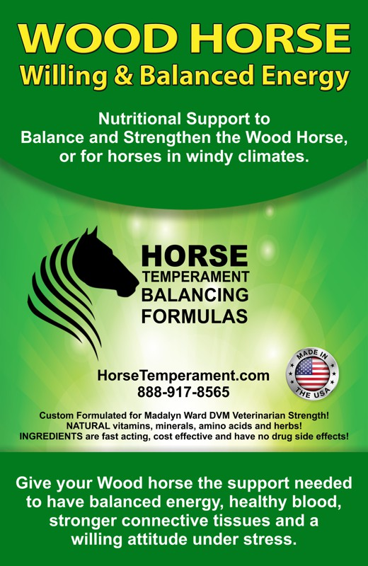 Wood Horse Temperament Balancing Formula