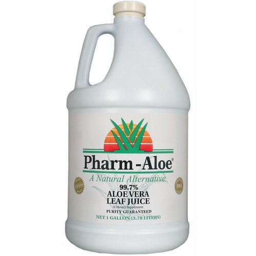 Pharm-Aloe Aloe Vera Leaf Juice Gallon