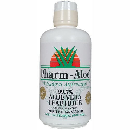 Pharm-Aloe Aloe Vera Leaf Juice Quart
