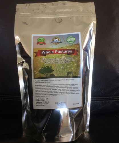 Whole Pastures Nutrients for horses