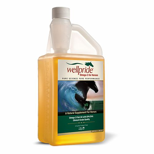 Wellpride natural fish oil for horses